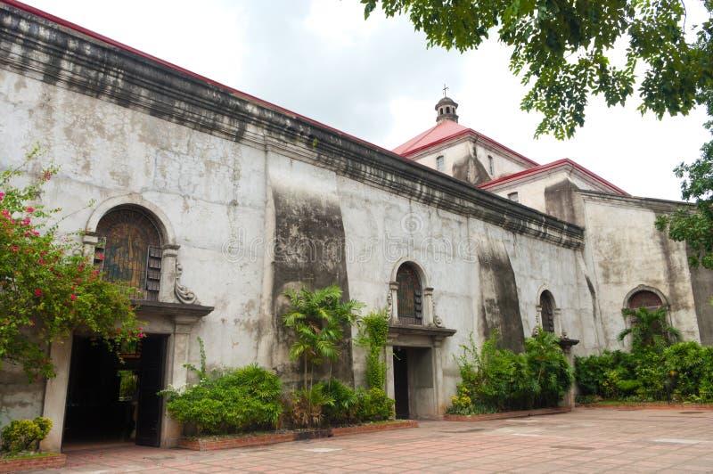 De Metropolitaanse Kathedraal van Naga royalty-vrije stock afbeelding