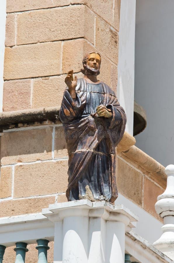 De Metropolitaanse Kathedraal van Sucre, Bolivië royalty-vrije stock afbeelding