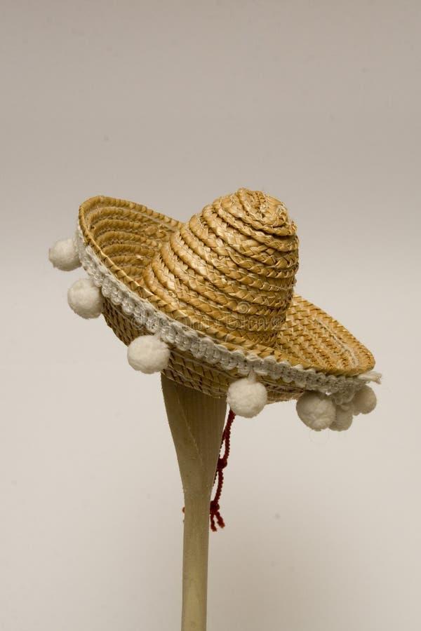 De Mexicaanse hoed van de Sombrero stock foto