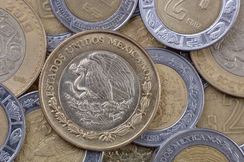 De Mexicaanse Muntstukken van de Peso