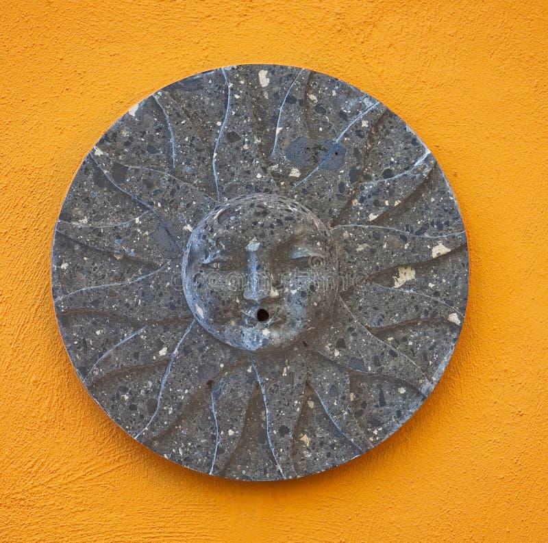 De Mexicaanse Tegel van de Zon stock afbeelding
