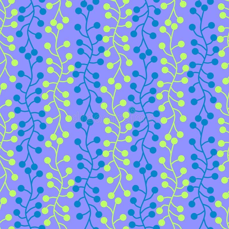 De micro- cellen vatten naadloze achtergrond samen vector illustratie