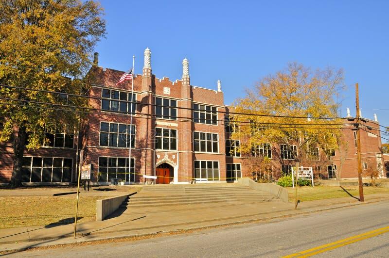 De Middelbare school van Elvis Presley, Memphis royalty-vrije stock foto's