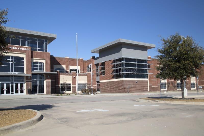 De middelbare schoolingang van Nice stock afbeelding