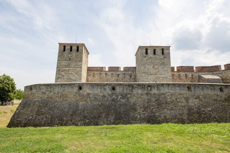 De middeleeuwse vesting van Baba Vida royalty-vrije stock afbeeldingen