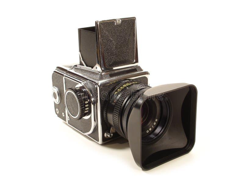 De middelgrote Camera van het Formaat stock afbeeldingen