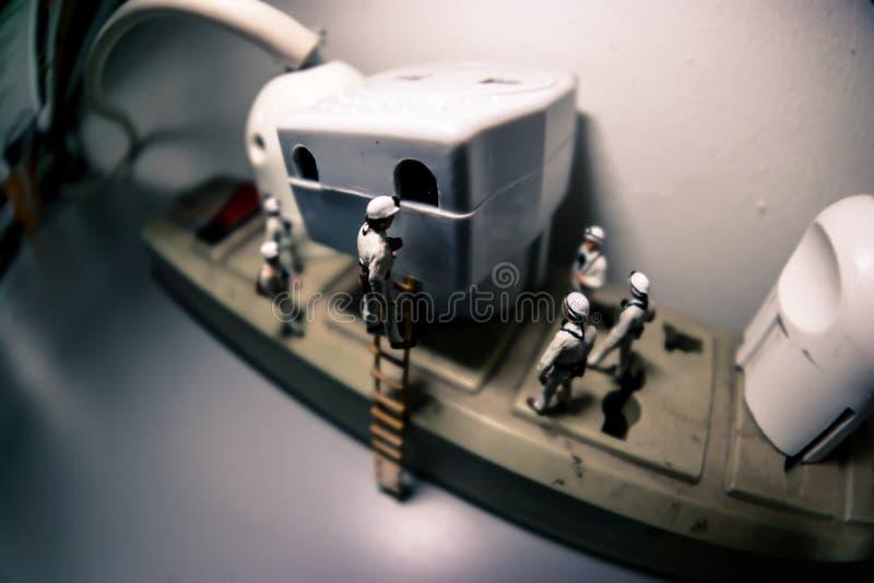 De mijnwerkers stock foto's