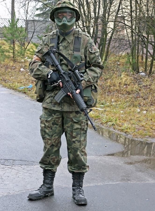 De militair van de MEP stock foto's