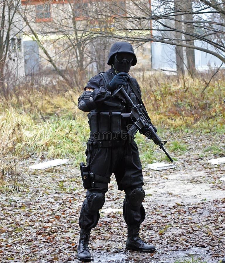 De militair van de MEP stock afbeelding