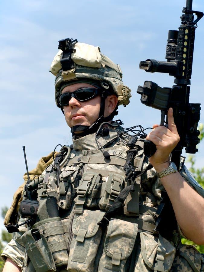 De militair van de V.S. royalty-vrije stock foto