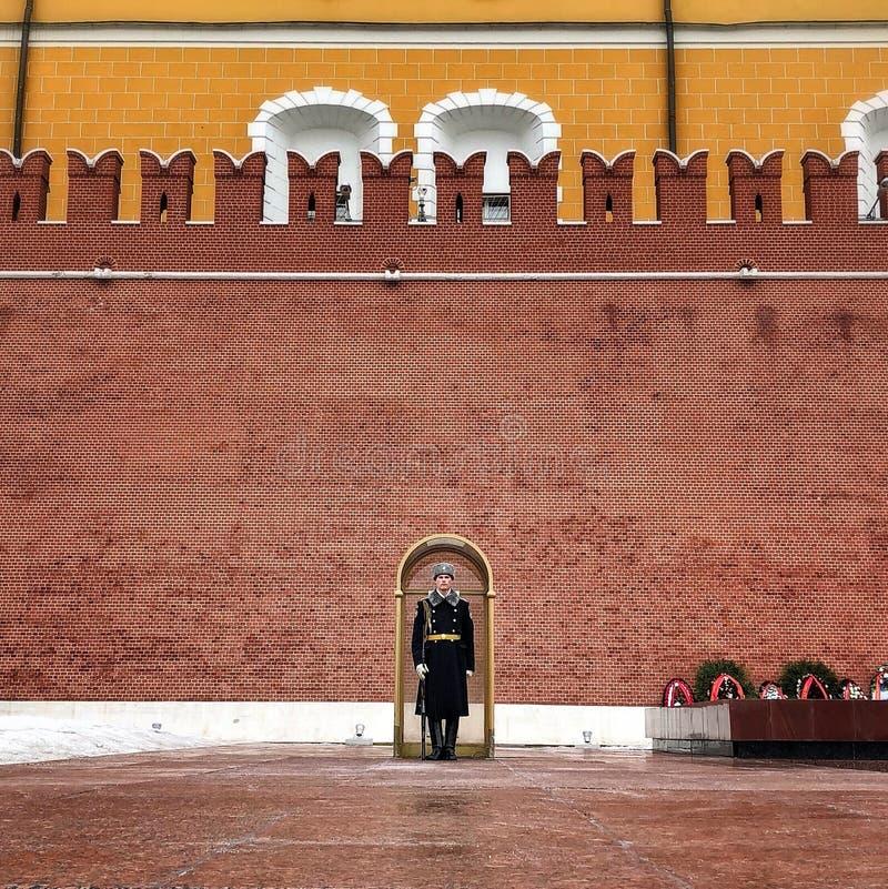 De Militair van het Kremlin stock afbeelding