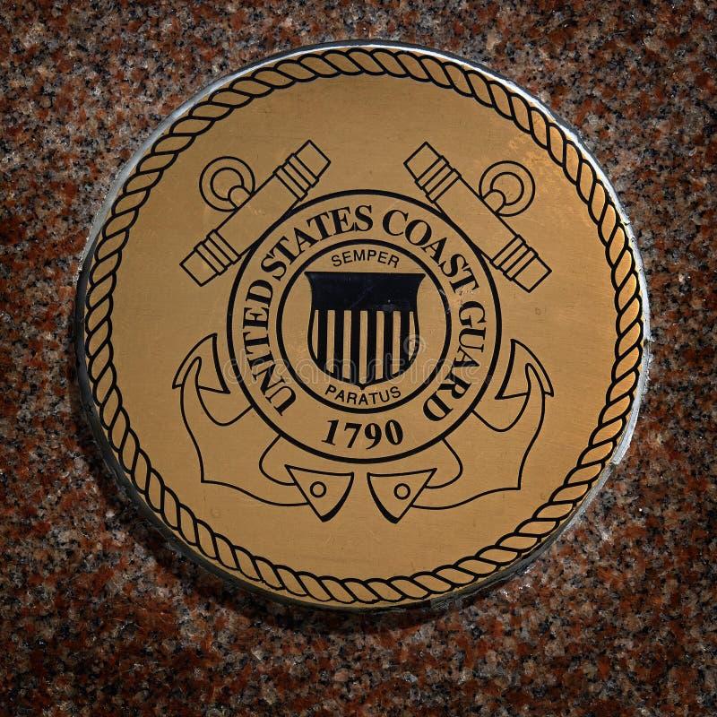 De Militaire Symbolen van de V.S. voor van de de Dienstenmarine van Verenigde Staten de Marinelucht stock fotografie