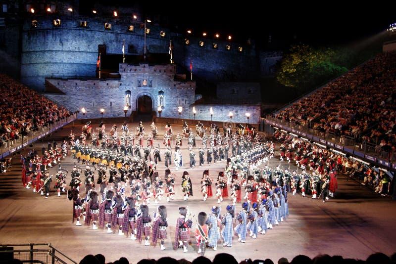 De Militaire Tatoegering van Edinburgh royalty-vrije stock foto