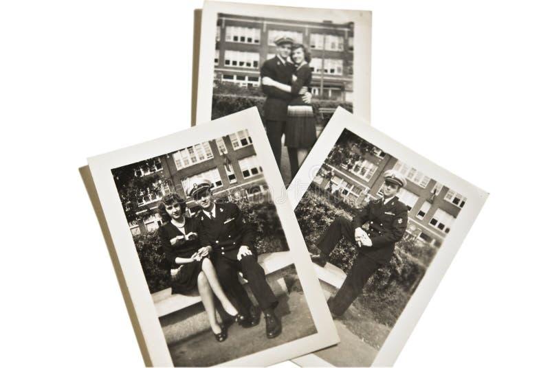 De militaire Uitstekende 1930-jaren '40 van Foto's stock fotografie
