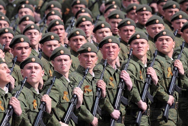 De militairen van de orde stock afbeeldingen