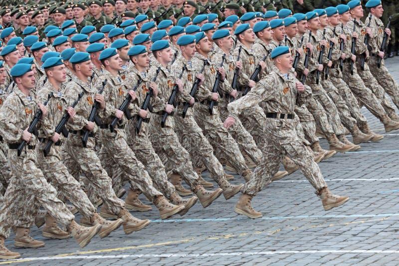 De militairen van de orde stock fotografie