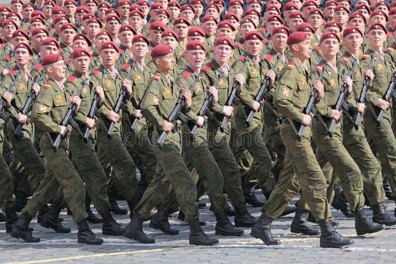 De militairen van de orde stock afbeelding