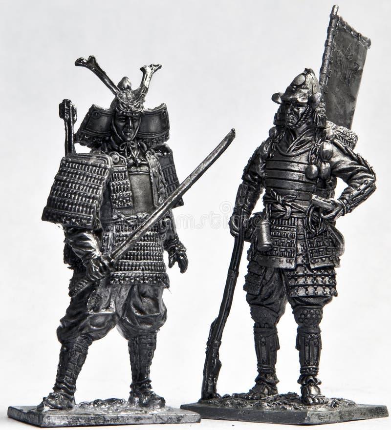 De Militairen van het tin stock afbeelding