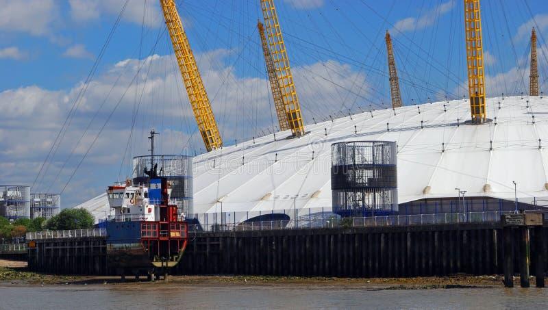 De Millenniumkoepel, Londen stock fotografie