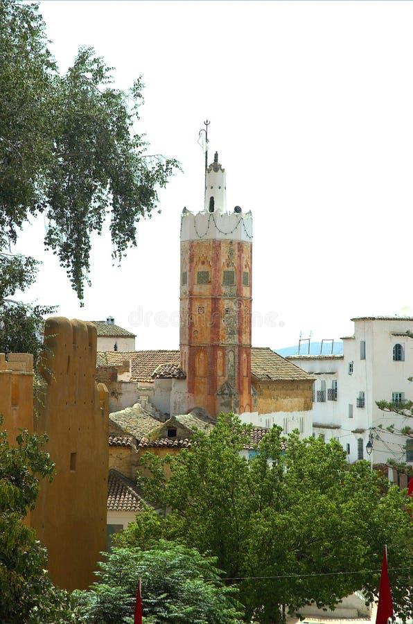 De minaret. royalty-vrije stock afbeelding