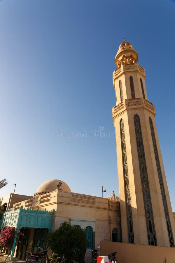 De minaret van kleine moskee royalty-vrije stock afbeeldingen
