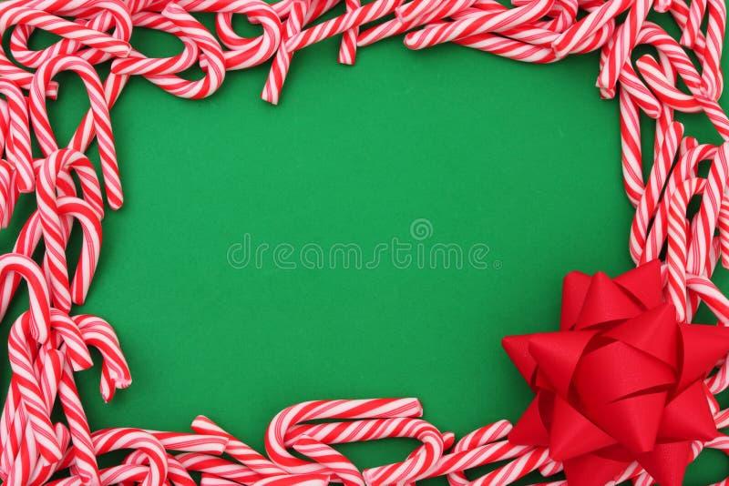 De mini Grens van het Riet van het Suikergoed royalty-vrije stock afbeelding