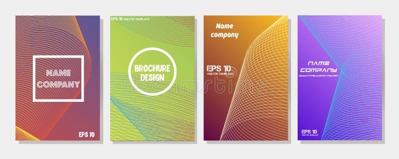 De minimumdekkingsreeks De toekomst van geometrisch ontwerp Abstract 3D netwerk Eps10 Vector royalty-vrije illustratie