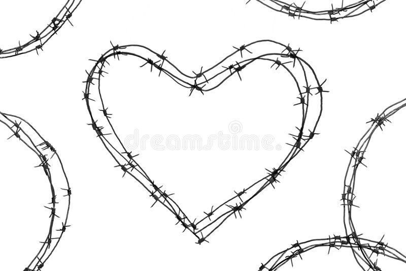De misdaad van de liefde stock foto's