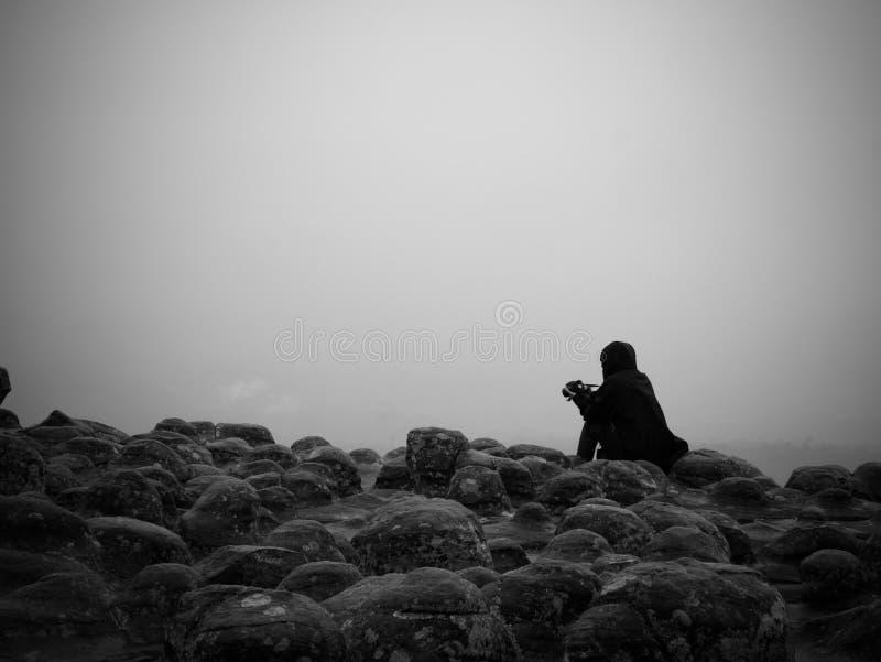 De mist in Lanhinpoom stock foto