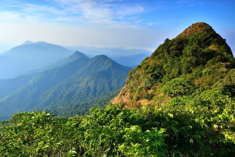 Berg in Thailand royalty-vrije stock foto's
