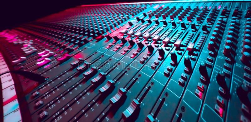 De Mixer van de muziek royalty-vrije stock foto's