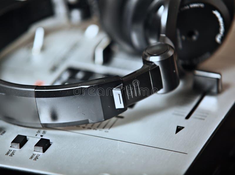 De mixer van DJ royalty-vrije stock afbeeldingen