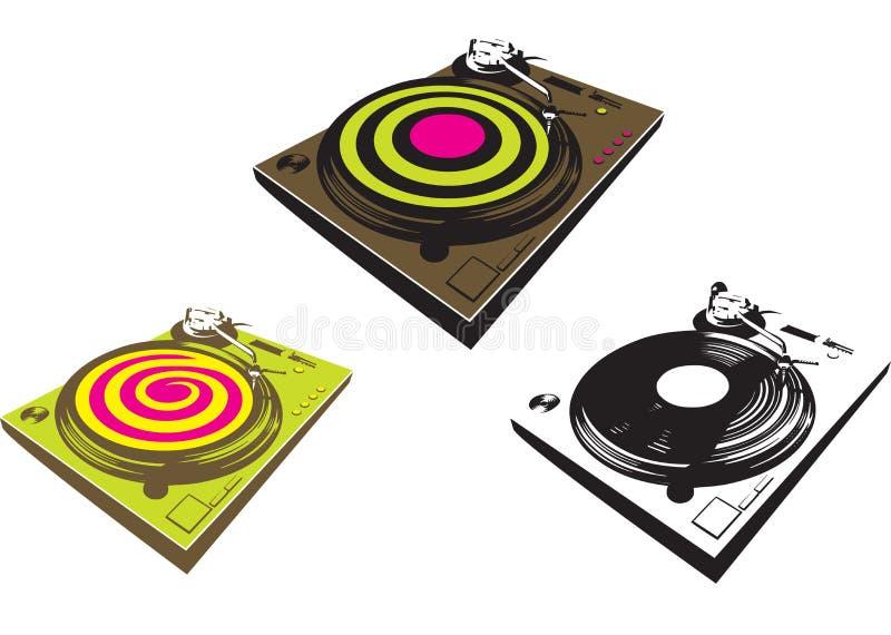 De Mixer van DJ stock illustratie