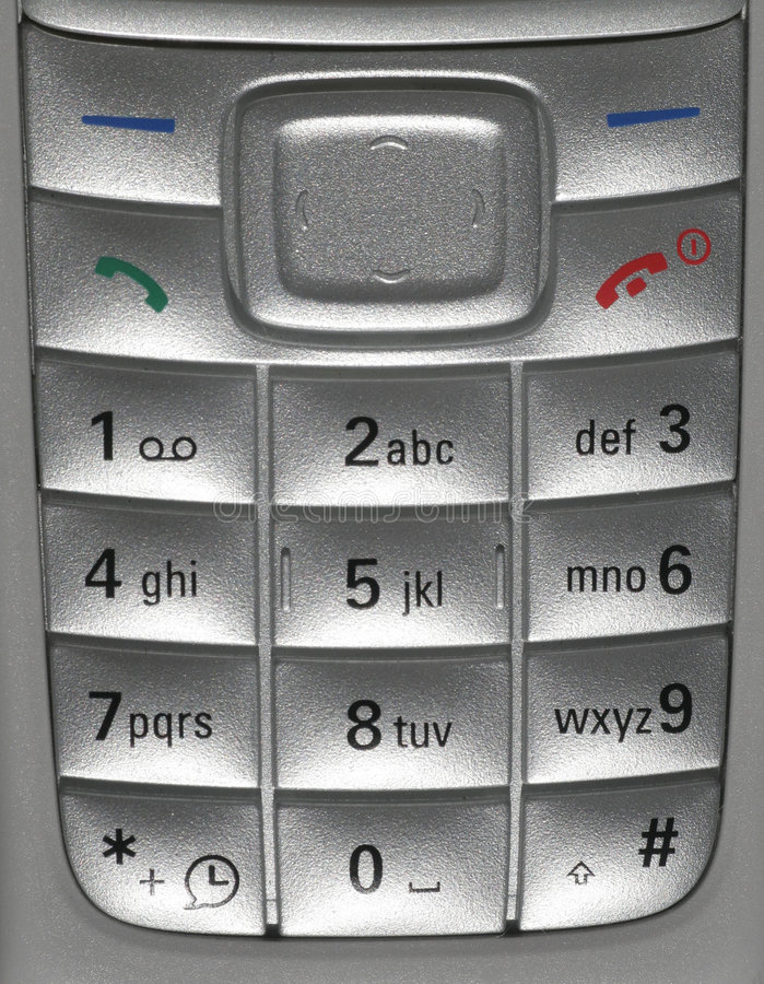 De mobiele Close-up van de Telefoon stock foto's
