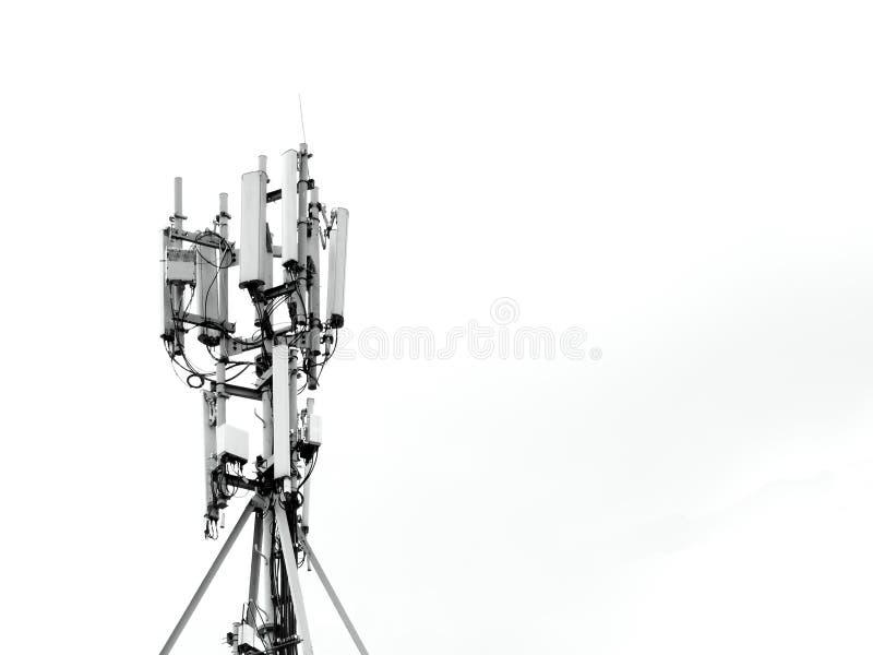 De mobiele telecommunicatie van antenneinternet royalty-vrije stock fotografie