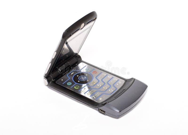 De mobiele telefoon van de tik royalty-vrije stock afbeeldingen
