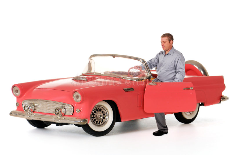 De model Droom van de Auto stock foto's