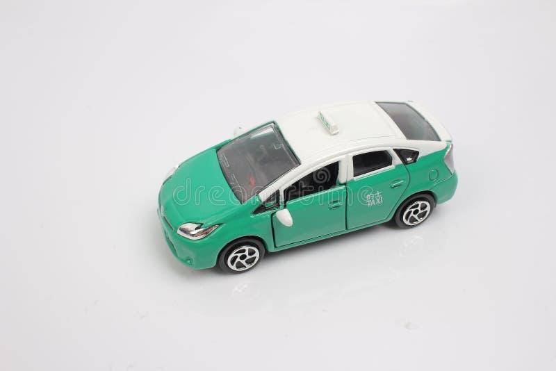 De modeltaxi in Hongkong royalty-vrije stock afbeelding