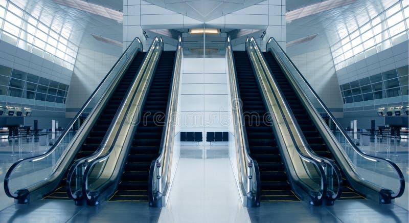 Moderne Luchthavenarchitectuur Gratis Stock Afbeeldingen
