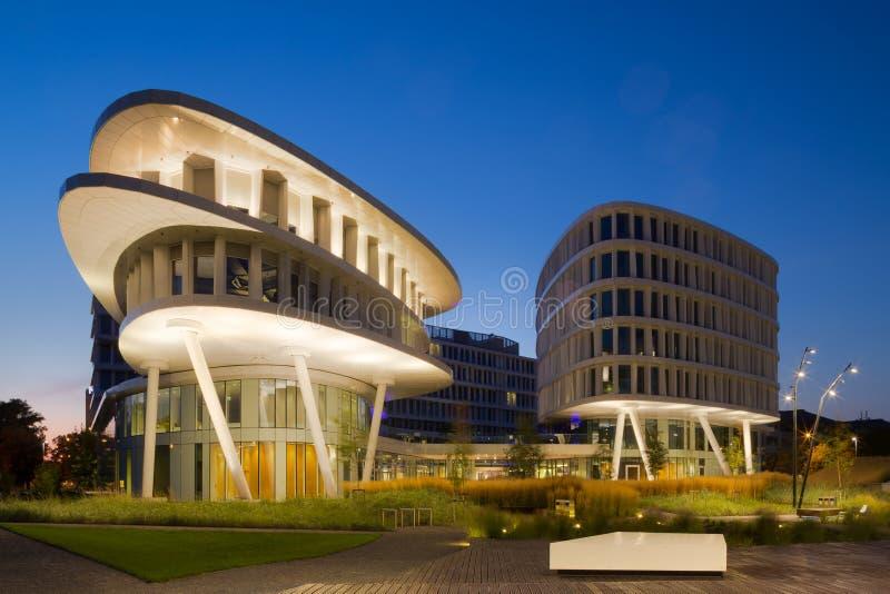 De moderne Architectuur van het Bureau royalty-vrije stock foto's
