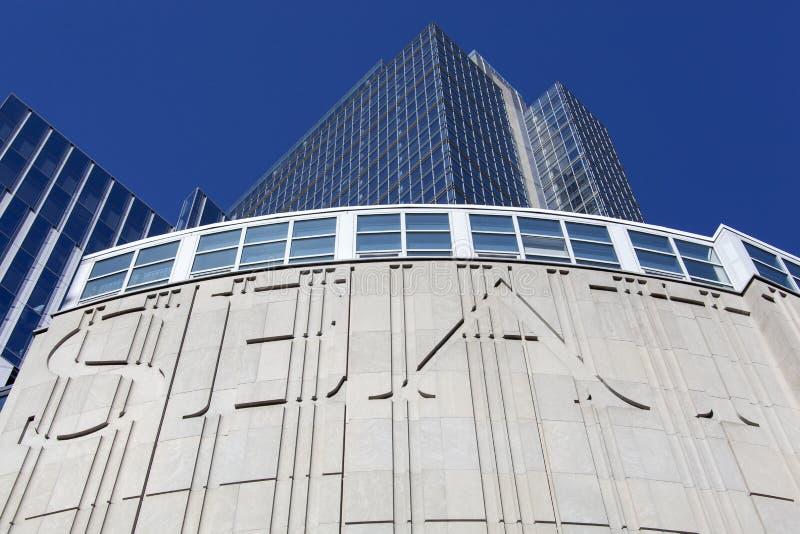 De Moderne Architectuur van Seattle stock fotografie