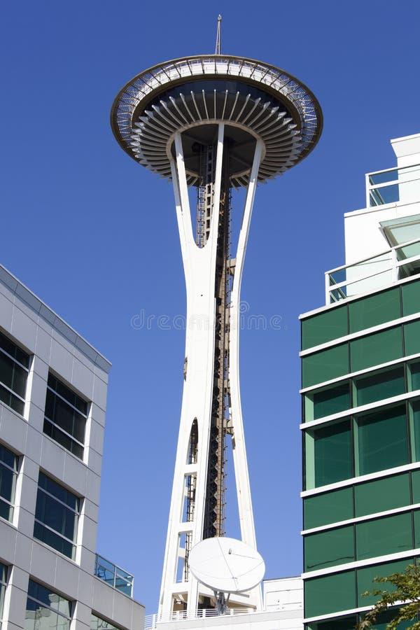 De Moderne Architectuur van Seattle stock afbeeldingen