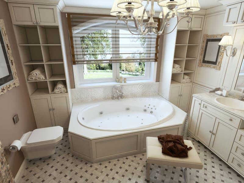 De moderne badkamers van de luxe stock fotografie