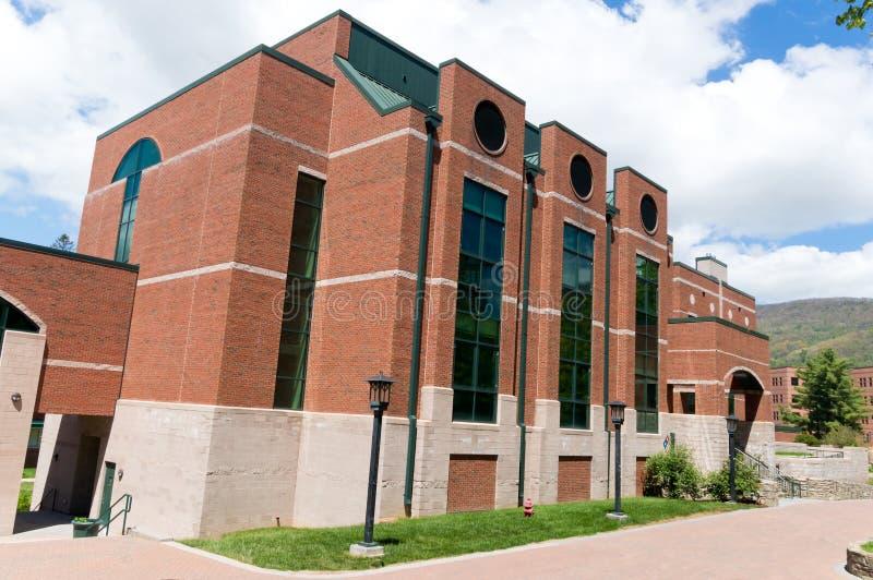 De moderne bouw op campus stock fotografie