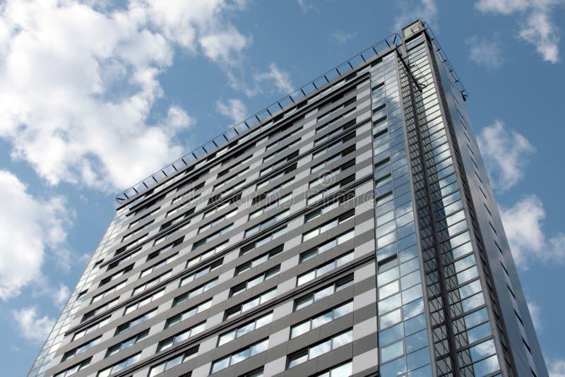 De moderne bouw in Riga royalty-vrije stock foto