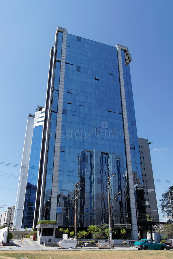 De moderne Bouw in Sao Paulo royalty-vrije stock foto