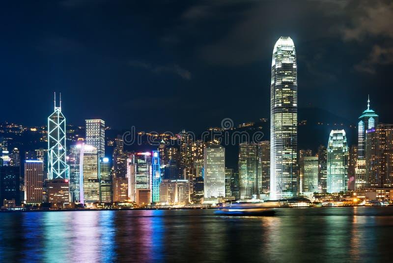 De moderne bouw van het financiële centrum van Hongkong royalty-vrije stock fotografie