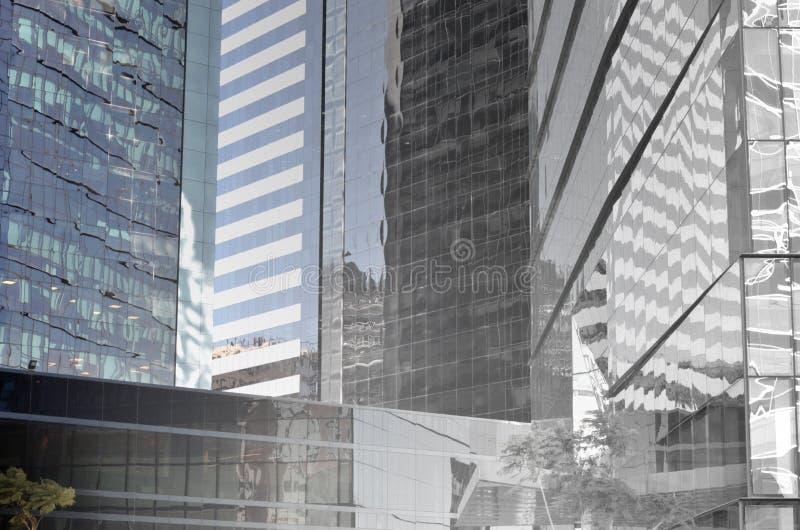 De moderne bouw VI royalty-vrije stock afbeeldingen
