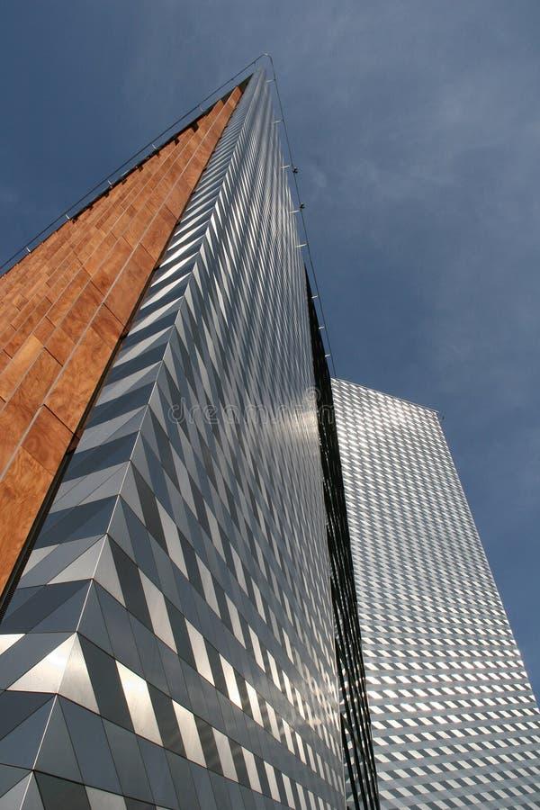 De moderne bouw in Vilnius royalty-vrije stock afbeelding