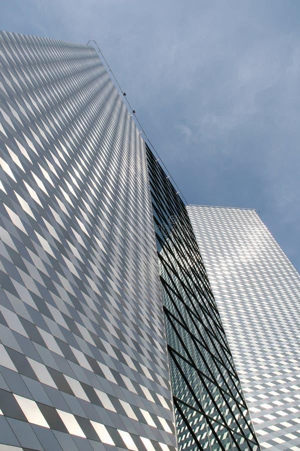 De moderne bouw in Vilnius stock fotografie